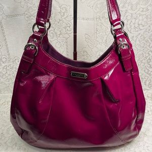Coach Crimson Plum Soho Hobo Bag